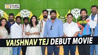 Vaishnav Tej Debut Movie Launch || Full Video || Chiranjeevi, Allu Arjun, Sukumar, Sai Dharam Tej