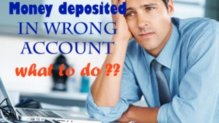 What to do when money transferred to wrong account