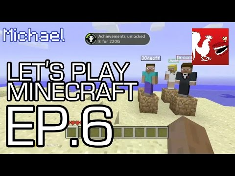 Let's Play Minecraft Part 6 - Enter the Nether Part 1