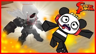 Roblox Elemental Battlegrounds DEATHLORD BOSS Let's Play with Combo Panda