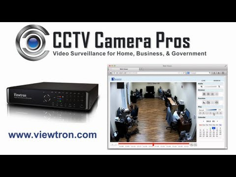 Viewtron Surveillance DVR Remote Video Search and Playback