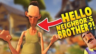 Download DID WE FIND HELLO NEIGHBOR'S CRAZY BROTHER!? | Hello Neighbor Mobile Game Rip off (iOS/Android Game) 3Gp Mp4