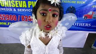 FREEDOM TO GROW, ALL INDIA EVENT, SCHOOL GIRL'S DANCING, BANPUR,EAST MIDNAPUR,BENGAL,INDIA