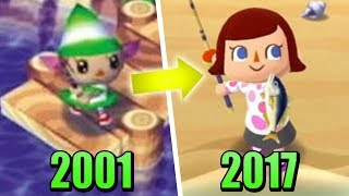 Evolution of Animal Crossing Games (2001 - 2017) | Pocket Camp Update