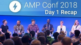 AMP Stories, AMP in Email, & More at AMP Conf 2018! (Day 1 Recap)