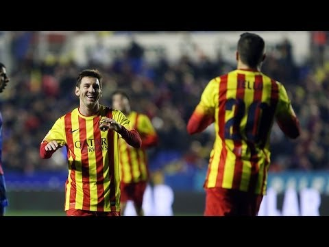 Lionel Messi ● Passing Skills 2013-2014 | Hd video