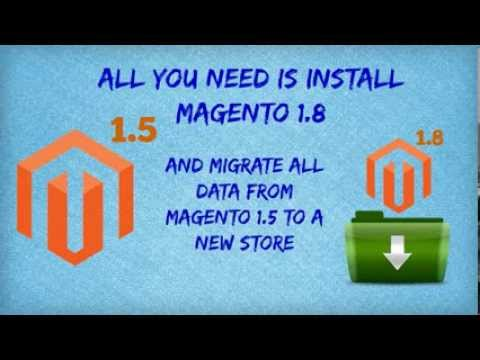 How to Upgrade Magento 1.5 to 1.8 with Cart2Cart