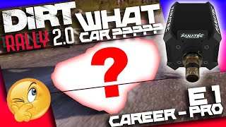 Dirt Rally 2.0 - Career - Pro - What car to choose ? - Episode 1