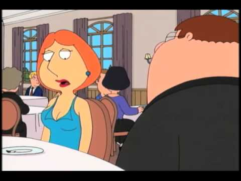 New Cougar Lois!   FAMILY GUY