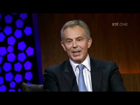 The Late Late Show: Tony Blair on being called a 'war criminal'