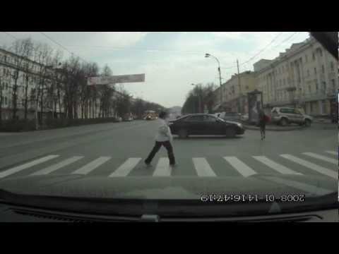 Записи с видеорегистратора Екатеринбург [часть 1]