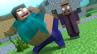 Top 4 Funny Minecraft Animations BY MrFudgeMonkeyz