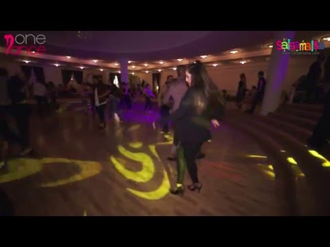 Mark Anthony & Hande Atalay Social Salsa Video - Noche De Rumba by One Dance