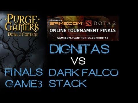 Gamecom.Dota2 Finals DarkFalco vs Dignitas g3