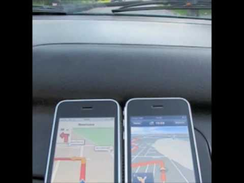 iPhone navigation software - iGo vs Navigon