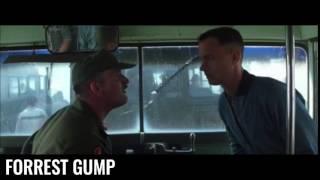 Scène culte - Forrest Gump - T'es même pas digne de lécher mes bottes de merde !