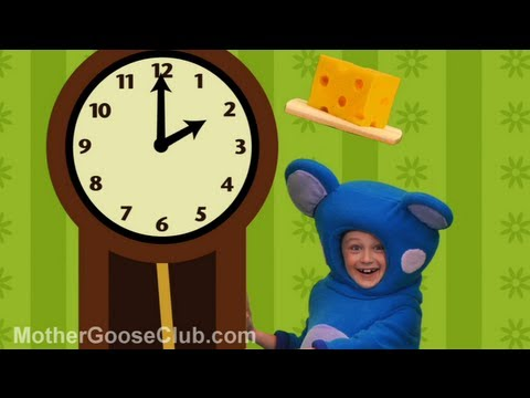 Hickory Dickory Dock (sd) - Mother Goose Club Rhymes For Children video