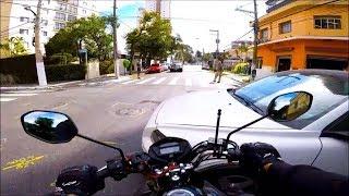 FUI FAZER UM TEST-DRIVE NA FAN 160 E BATI A MOTO