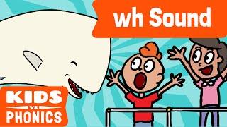 wh | Fun Phonics | How to Read | Made by Kids vs Phonics