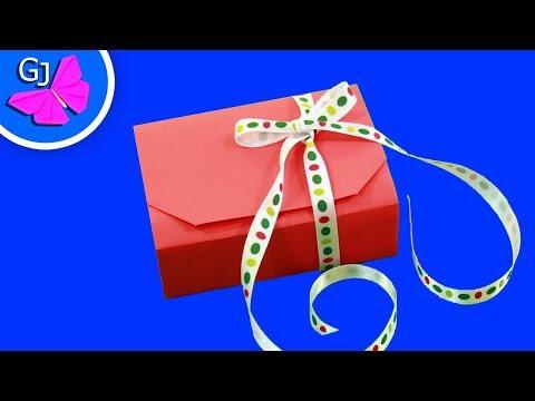 Подарок из бумаги на новый год своими руками видео