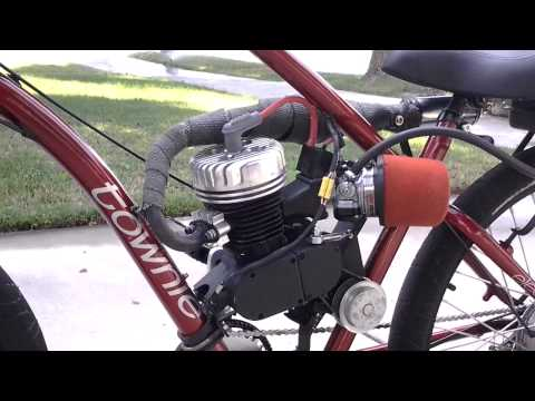 Motorized bike with shift kit 2013 Electra Townie