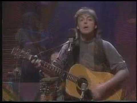 I´ve just Seen a Face - Paul McCartney Unplugged
