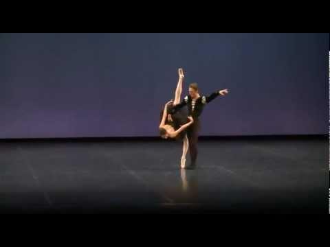 Black Swan Pas de Deux - Alys Shee (Canada)  and Jonathan Davidsson (Sweden)