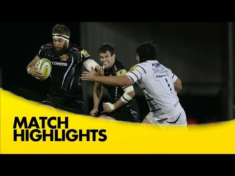 Exeter Chiefs Vs London Irish - Aviva Premiership 2015/16