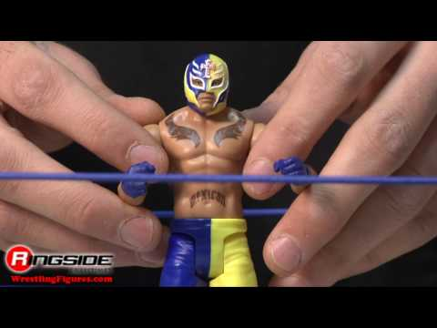 Superstar WWE Mattel Toy Wrestling Action Figure Ring - RSC Figure