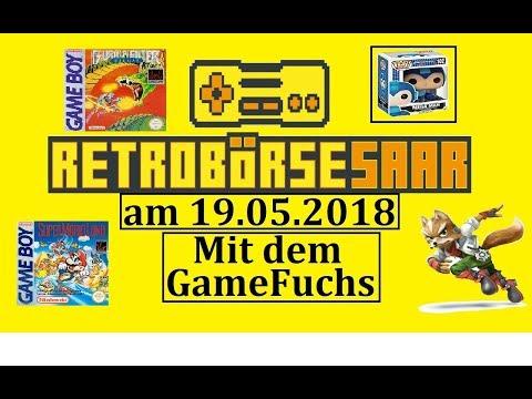 Retro Börse Saar 2018 im Saarland mit dem GameFuchs am Start