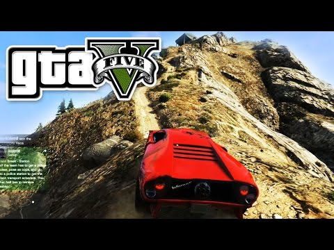 GTA 5 - RACE TO THE MOUNTAIN TOP  - E20 | (Grand Theft Auto 5 Online Gameplay PC | Funny) Pungence