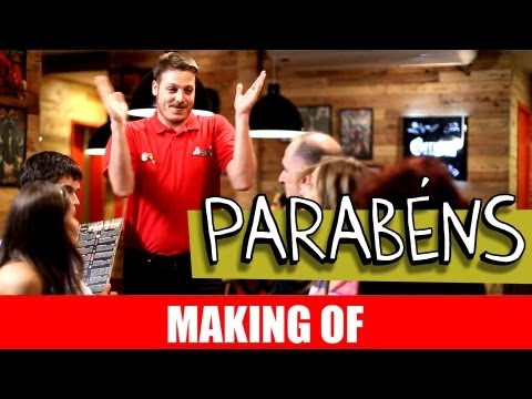 MAKING OF - PARABÉNS
