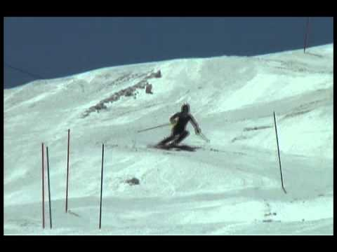 Mikaela Shiffrin Training Slalom Mammoth Mountain
