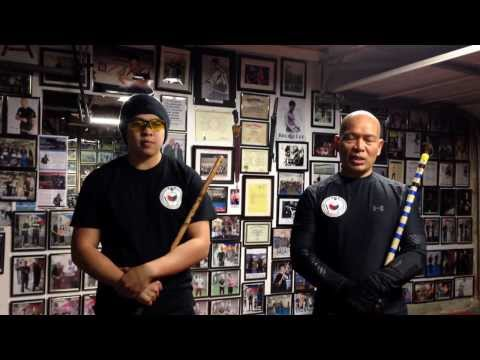 Applied Eskrima Global:  Basic Spar 1 , Stick Version and Empty Hands Version
