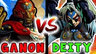 What If FIERCE DEITY And GANONDORF Ended Up In A Battle? - Legend Of Zelda Versus