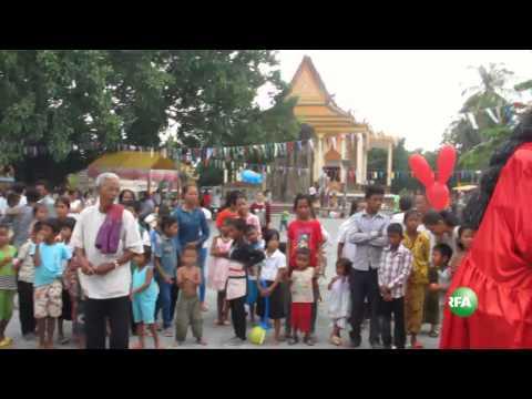 Chhay Yum Performance in Tonle Bati Pagoda's Kathen Festival