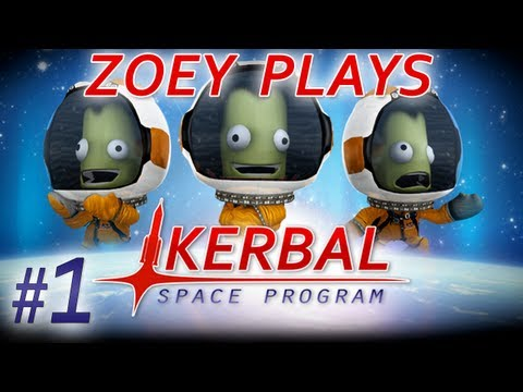 Kerbal Space Program - #1 - Spaaaaaaaaaace!