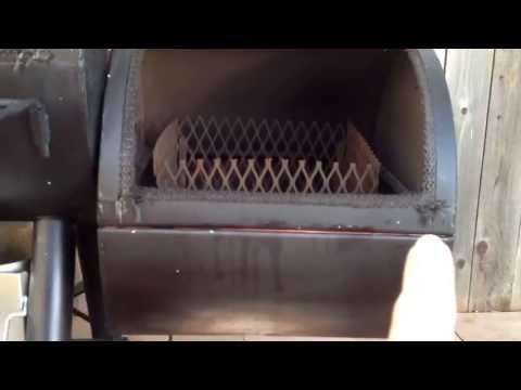 Oklahoma Joe's Longhorn Smoker Modifications -Sealing it up (Part 2)
