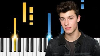 Shawn Mendes & Khalid - Youth - EASY Piano Tutorial
