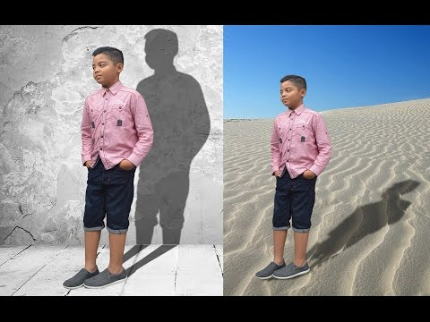 Effect Shadow (Bayangan) - Tutorial Photoshop