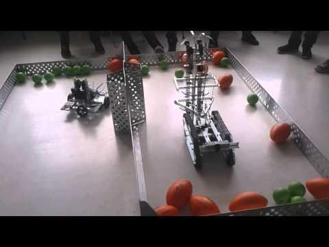 VEX Robotics Ball Game: Swept Away
