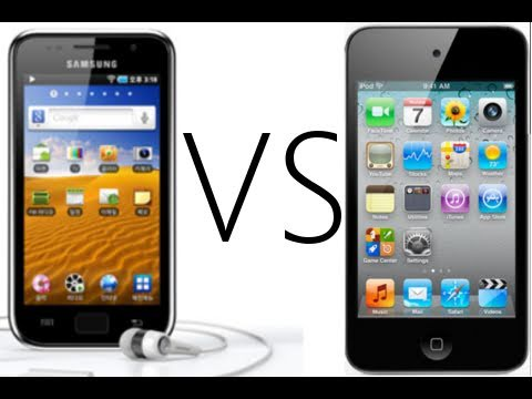 D3Live: Samsung Galaxy Player vs iPod touch 4G