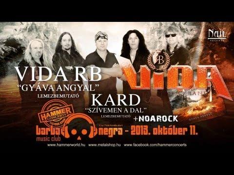 Vida Rock Band - Itt Vagyok (szöveges / Lyrics Video)