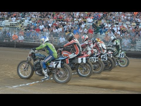 2014 Lima Half-Mile - Grand National Championship Main Event - AMA Pro Flat Track