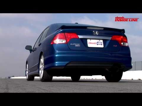 2010 Honda Civic Si HPF Sedan   Track Tested