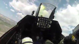 SoloTürk Kokpit İçinden Harika Görüntüler - F16 Cockpit Footage