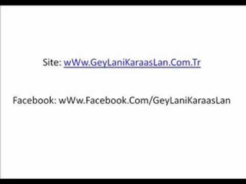 Geylani Karaaslan Ehli Sünnet Sohbeti FacebookTan Sayfamızı Takip Edin.