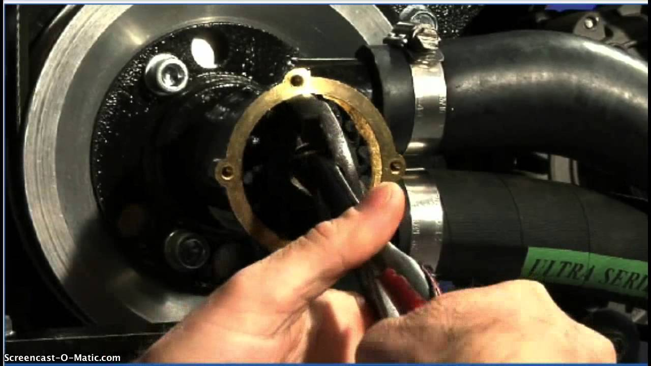replacing the raw water pump