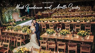 Mark Zambrano and Aicelle Santos | On Site Wedding Film by Nice Print Photography