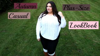 Casual Fall Plus Size Look-book (Ft. Leggings) (HD)